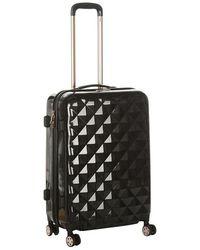Firetrap Diamond Suitcase - Black