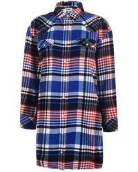 Wrangler Overshirt Dress - Blue