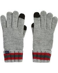 Jack Wills Dunbar Gloves - Grey - Gray