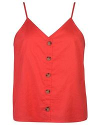 ONLY - Life Cami - Red - Lyst