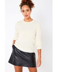 Jack Wills - Tinsbury Metallic Tipping Cable Jumper - Lyst