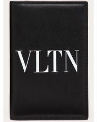 Valentino Garavani Cover Per Passaporto Vltn - Nero