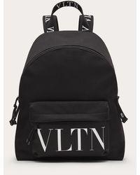 Valentino - Vltn ナイロン バックパック - Lyst