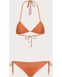 Valentino Bikini Aus Lycra Mit Print - Mehrfarbig