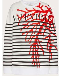 Valentino Print Jersey Sweatshirt - Multicolour