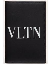 Valentino Garavani Vltn パスポートカバー - ブラック