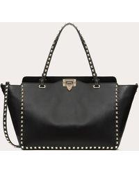 Valentino Garavani Medium Rockstud Bag - Black