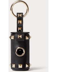 Valentino Garavani Rockstud Pet Waste Bag Holder - Black