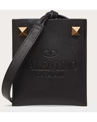 Valentino Garavani ヴァレンティノ ガラヴァーニ アイデンティティ スマートフォンケース - ブラック
