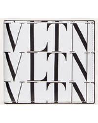 Valentino Garavani - Vltnタイムズ ウォレット - Lyst