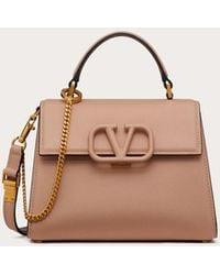 Valentino Garavani Valentino Garavani Small Vsling Grainy Calfskin Handbag - Multicolour