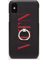 Valentino Garavani Cover Vltn Für Iphone X/xs - Schwarz