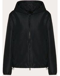 Valentino Vlogo Signature Technical Radzmir Pea Coat - Black