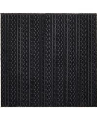 Valentino Garavani Valentino Garavani Vltn Times Wool Shawl - Black