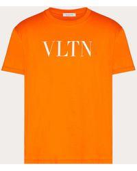 Valentino VLTN T-Shirt - Orange