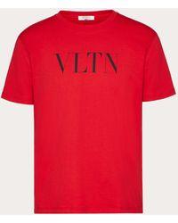 Valentino T-shirt Vltn - Rosso