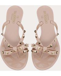 Valentino Garavani Valentino Garavani The Rockstud Rubber Sandals - Multicolour