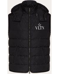Valentino Vltnstar Padded Vest - Black