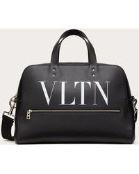 Valentino Bowling Bag Vltn Aus Leder - Schwarz