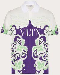 Valentino ワールド アラッツォ & Vltn ポロシャツ - マルチカラー