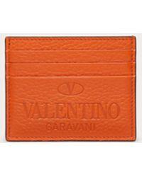 Valentino Garavani Valentino garavani kartenetui valentino garavani identity - Orange