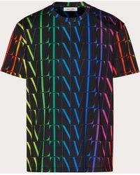 Valentino - Vltn タイムズ Tシャツ - Lyst