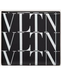 Valentino Garavani - Valentino Garavani Vltn Times ウォレット - Lyst