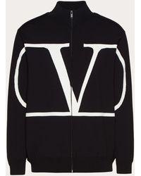 Valentino Vlogo Track Jacket - Black