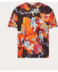 Valentino Hemd Infinite City - Orange