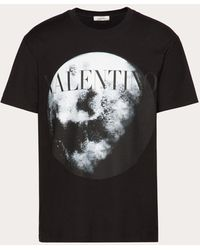 Valentino Moon Dust T-shirt - Black