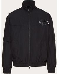 Valentino - Blouson Con Stampa Vltn - Lyst