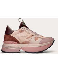 Valentino Valentino Garavani Rockrunner.up Sneaker - Pink