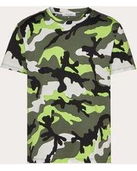 Valentino T-shirt Camouflage - Verde