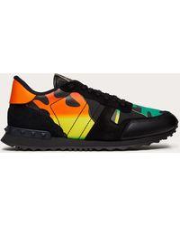 Valentino Garavani Valentino garavani sneakers rockrunner camouflage multicolor
