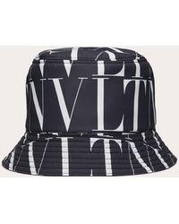 Valentino Garavani Bucket Hat Vltn Times Aus Nylon - Mehrfarbig