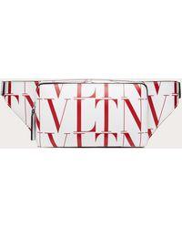 Valentino Garavani - Vltn タイムズ レザー ベルトバッグ - Lyst