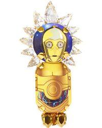 Bijoux De Famille - C3po Crown Brooch - Lyst