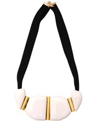 Marion Vidal - Heloise Necklace White - Lyst