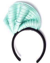 Maryam Keyhani - Sculpted Mint Headband - Lyst