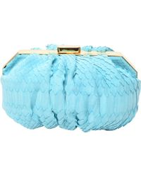 Philippe Roucou | Peppermint Python Clutch | Lyst