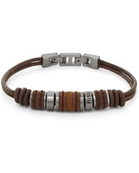 Fossil Armband - Bruin