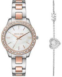 Michael Kors Horloge-set - Metallic