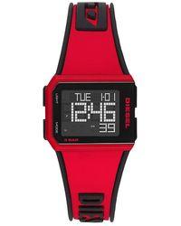 DIESEL Unisex Horloge - Rood