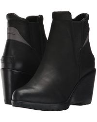 Sorel - After Hours Chelsea (quarry Suede) Women's Waterproof Boots - Lyst