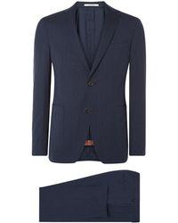 Van Gils Effen Pak The Travel Suit - Blauw