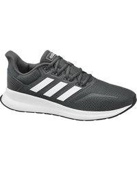 adidas - Grijze Run Falcon - Lyst