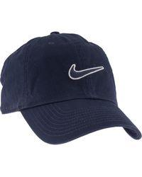 Nike Donkerblauwe Cap - Grijs