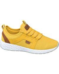 Bench Oker Gele Sneaker Memory Foam - Geel