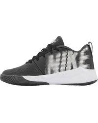 Nike E Team Hustle Quick - Zwart