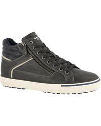 Memphis One - Bruine Halfhoge Sneaker - Lyst